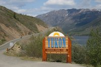Welcome to the YUkon sign - May 2008