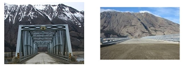 The Slims River Bridge, Alaska Highway