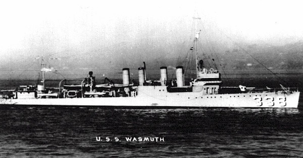Minesweeper USS Wasmuth
