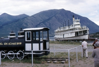 The sternwheeler Tutshi at Carcross, Yukon