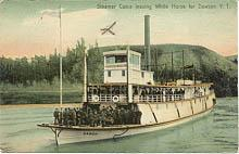 The Yukon River sternwheeler Casca - click to enlarge the image.