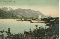 The Gleaner at Conrad City, a silver mining centre on Windy Arm of Tagish Lake, in 1906.