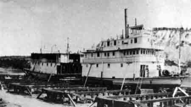 Steamboat Nasutlin being lengthened