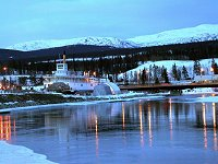 The Yukon River sternwheeler Klondike