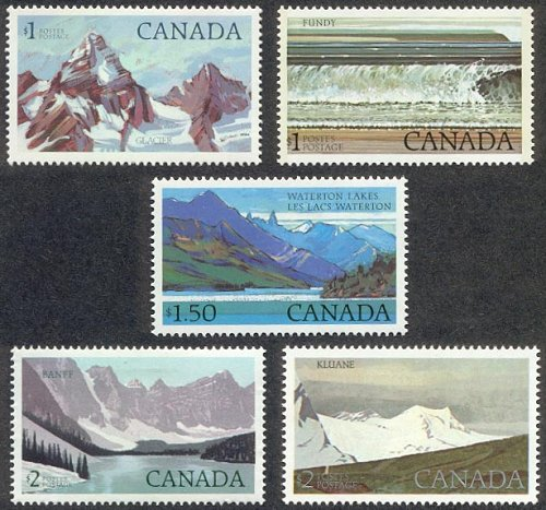 National Parks - Canadian postage stamp series