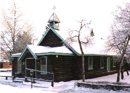 The Old Log Church Museum, Whitehorse