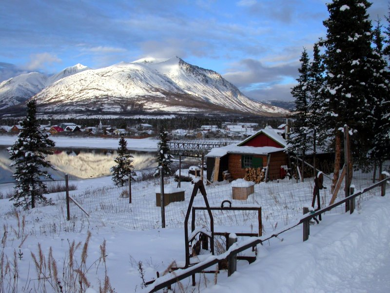 Lakefront Cabin for sale in Carcross, Yukon