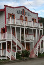 The Bunk House hostel, Dawson City, Yukon