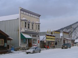 Second Avenue, Dawson City