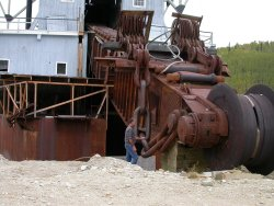 Dredge No. 4 - Dawson City, Yukon