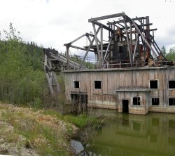 Dredge No. 8 - Klondike gold fields, Yukon