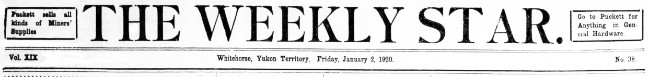 The Weekly Star, January 2, 1920