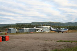 The Mayo Airport (CYMA), Yukon