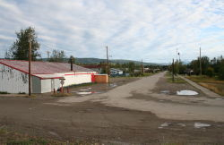 Centre Street in Mayo, Yukon