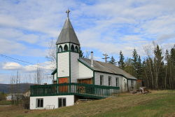 St. Mark's with St. Mary's Anglican Church at Mayo, Yukon