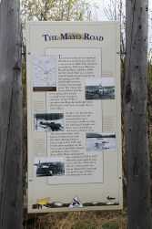 Mayo Road interpretive sign, Yukon