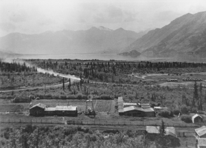 Silver City, Yukon in about 1944
