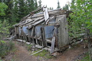 Fox farm at Silver City, Yukon