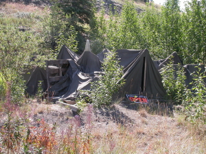 Silver City, Yukon, on July 28, 2004