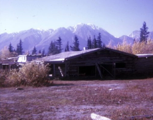 Silver City, Yukon in about 1965