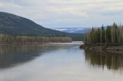 Stewart River at Mayo, Yukon