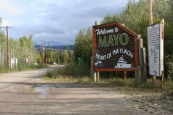 Welcome to Mayo, Yukon