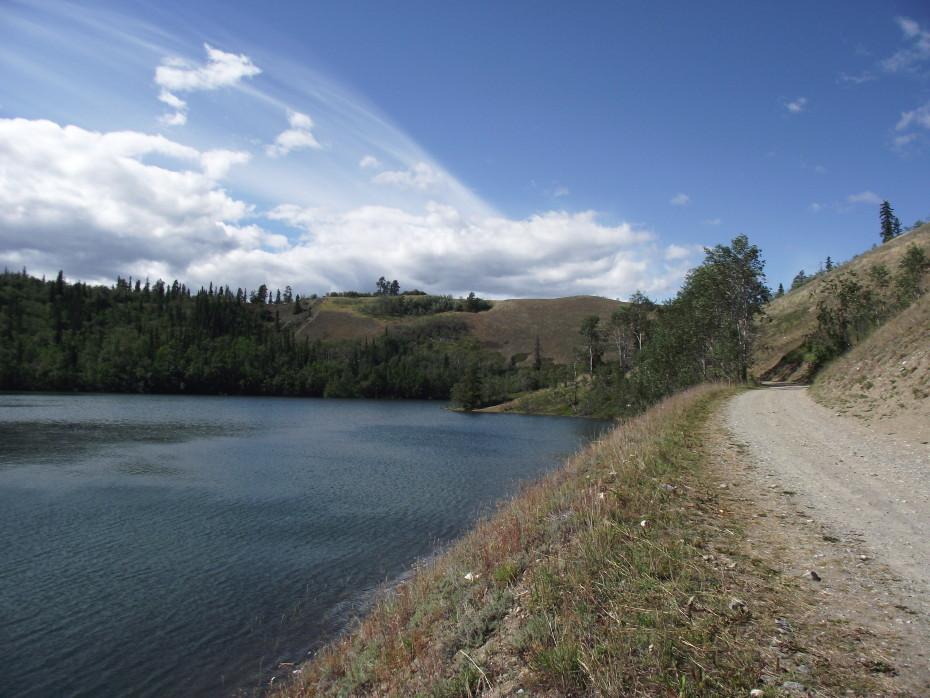 Ear Lake at Whitehorse, Yukon
