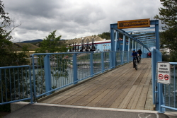 Rotary Centennial Bridge on the Millennium Trail at Whitehorse